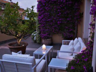 Hotel Capo D'Africa, terrazzo