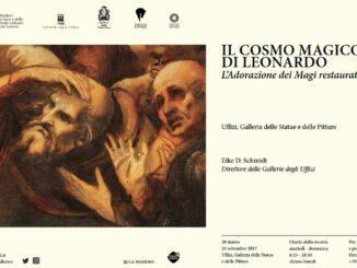 Il cosmo magico di Leonardo da Vinci: l'Adorazione dei Magi restaurata