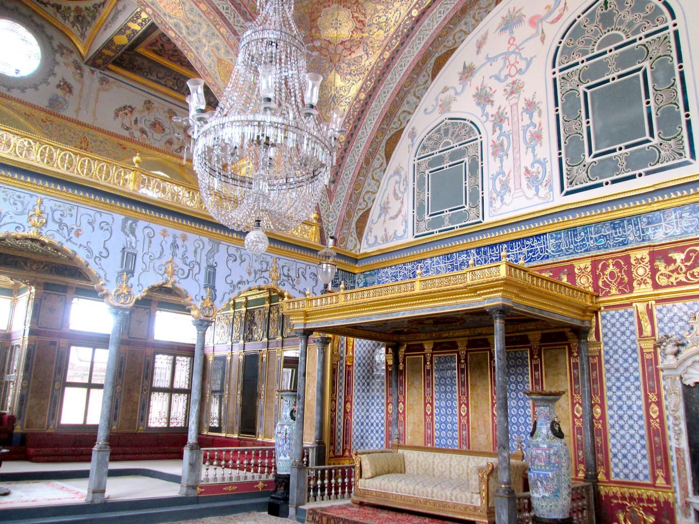 Una stanza del Topkapi. Istanbul