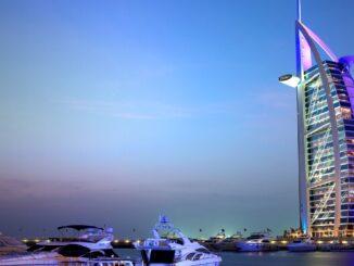 La Vela a Dubai negli Emirati Arabi