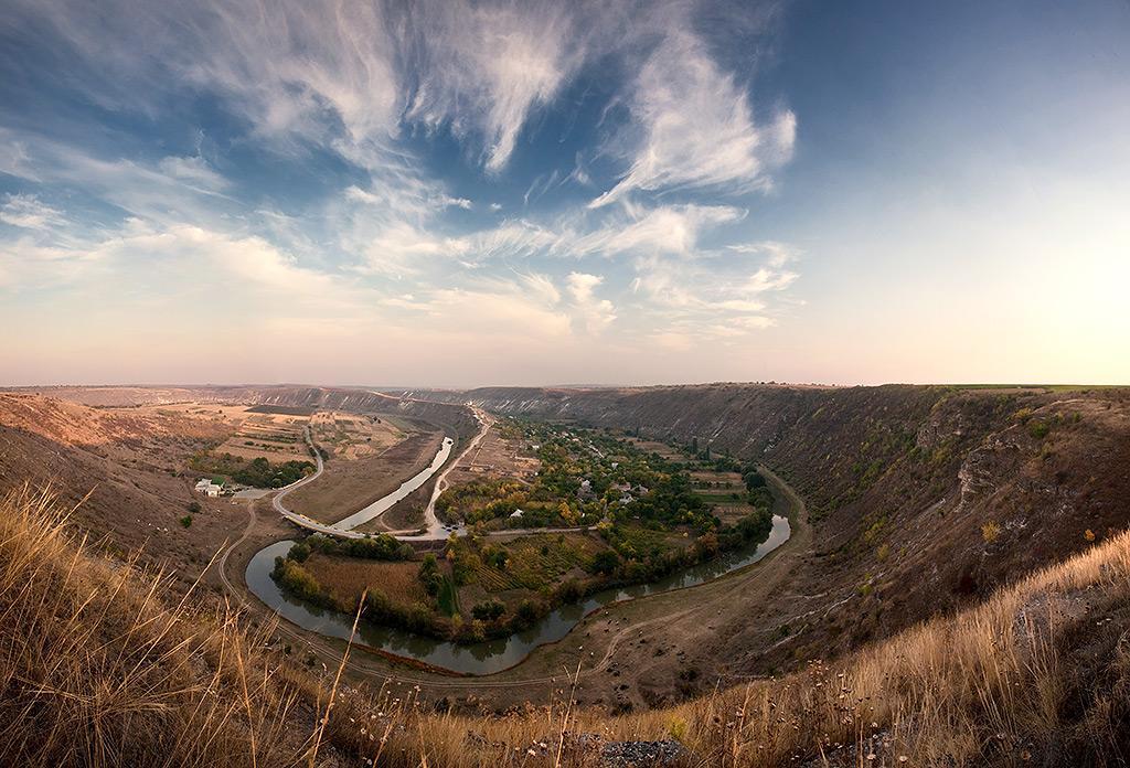 Paesaggio della Moldavia, Orheiul Vechi.