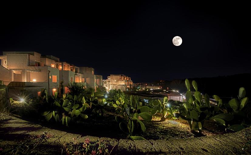 Basiliani Resort, vista notturna - Salento