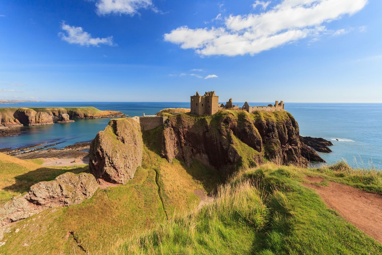 Castello Dunnottar Aberdeen Scozia