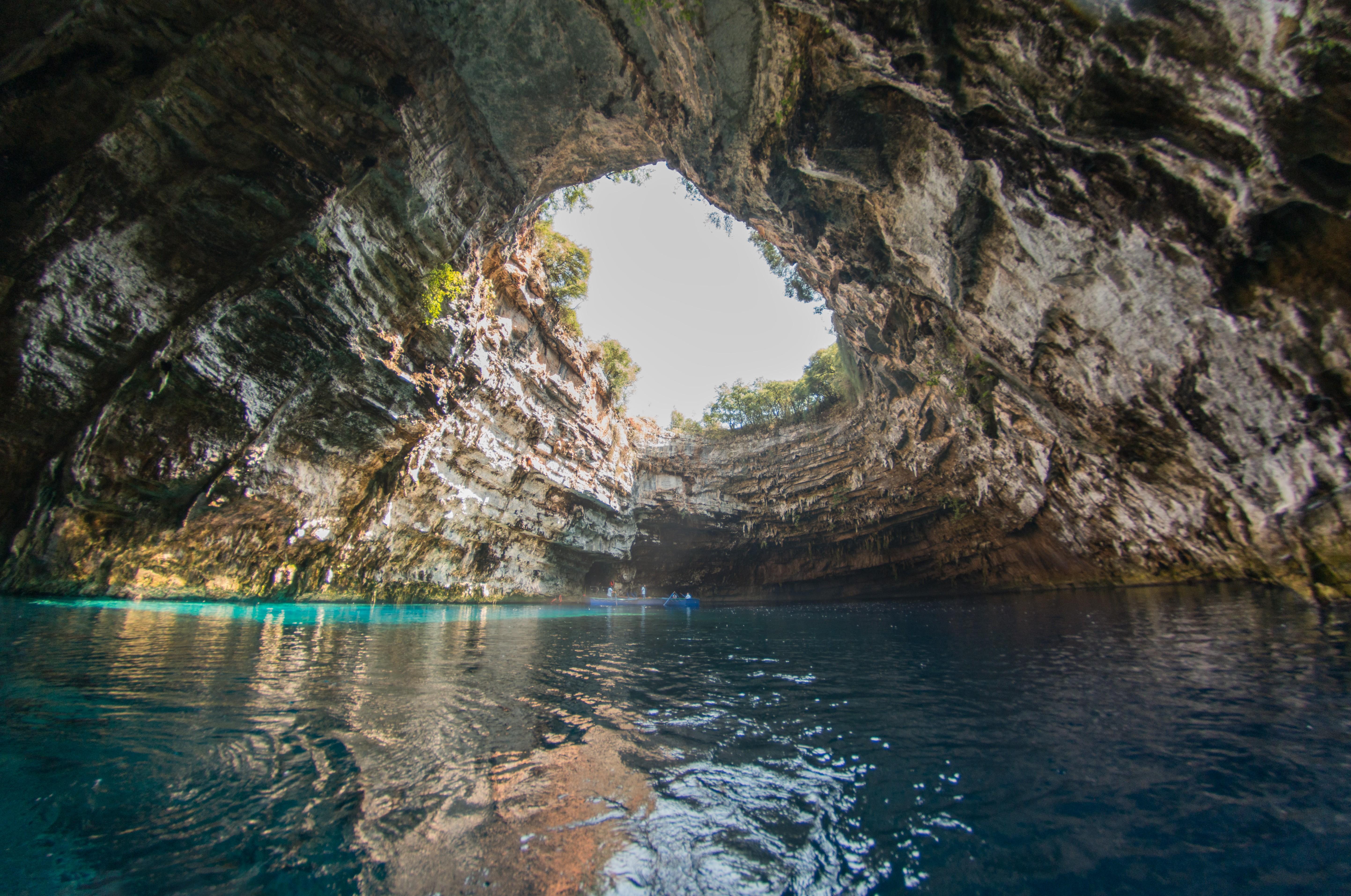 Grotta di Melissani Cefalonia, Grecia