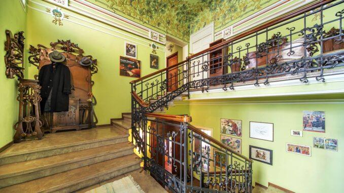 Villa Faccanoni a Sarnico - foto di Sergio Ramari - Opera di Sommaruga