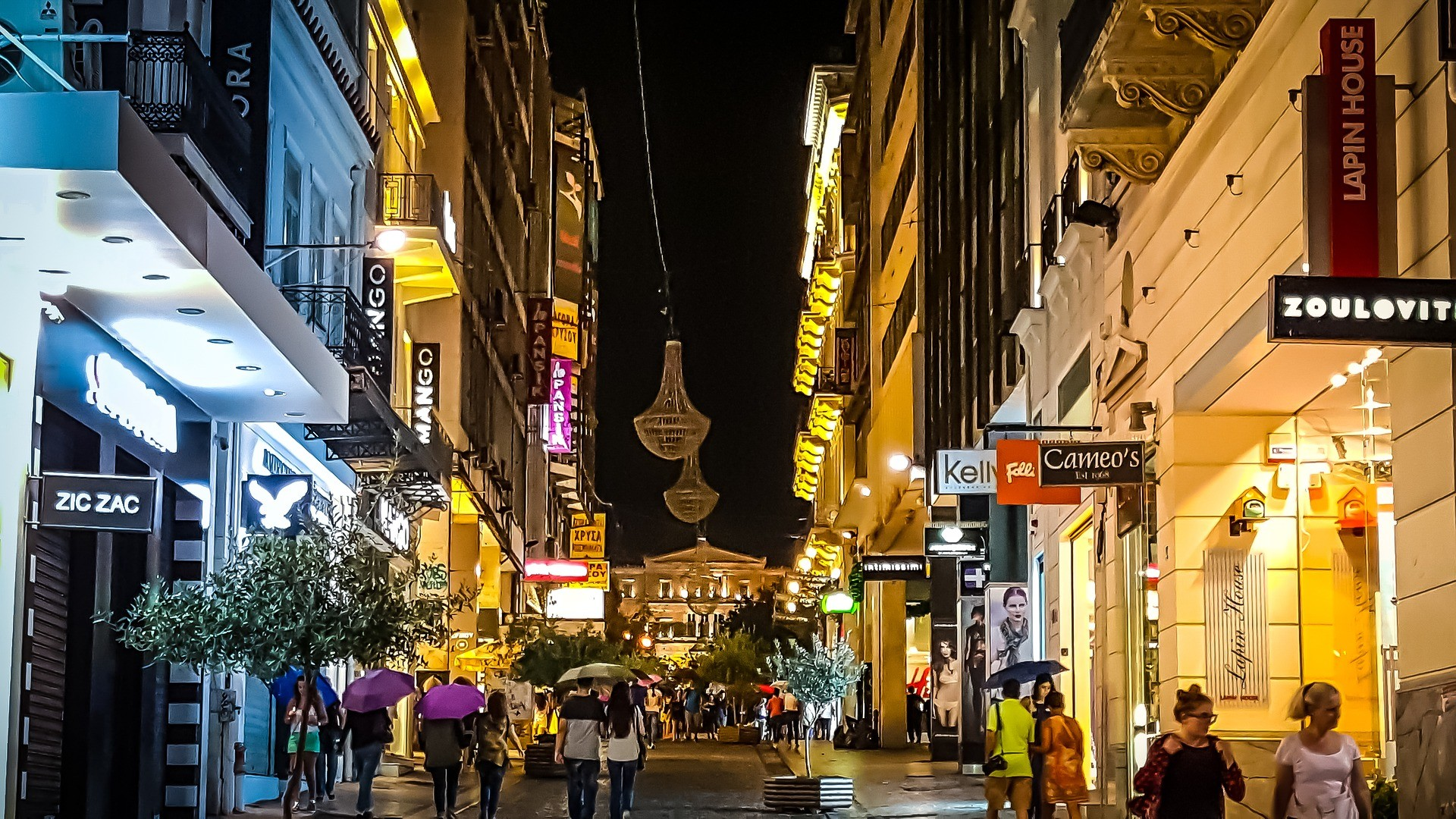 Vita notturna a Atene - Foto di kirkandmimi