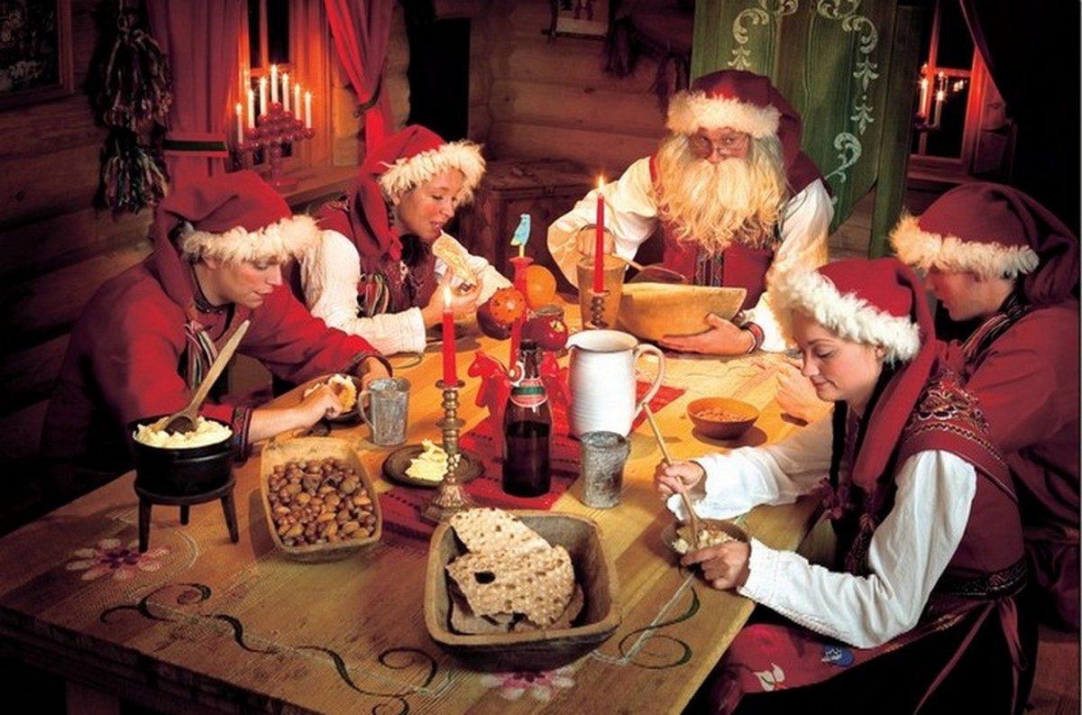 Il villaggio di Babbo Natale, Rovaniemi in Finlandia
