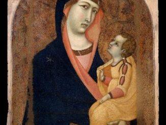 Madonna col Bambino. foto Andrea e Fabio Lensini, Siena