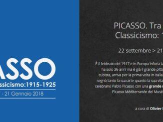 PICASSO. Tra Cubismo e Classicismo: 1915-1925, Scuderie del Quirinale - Roma