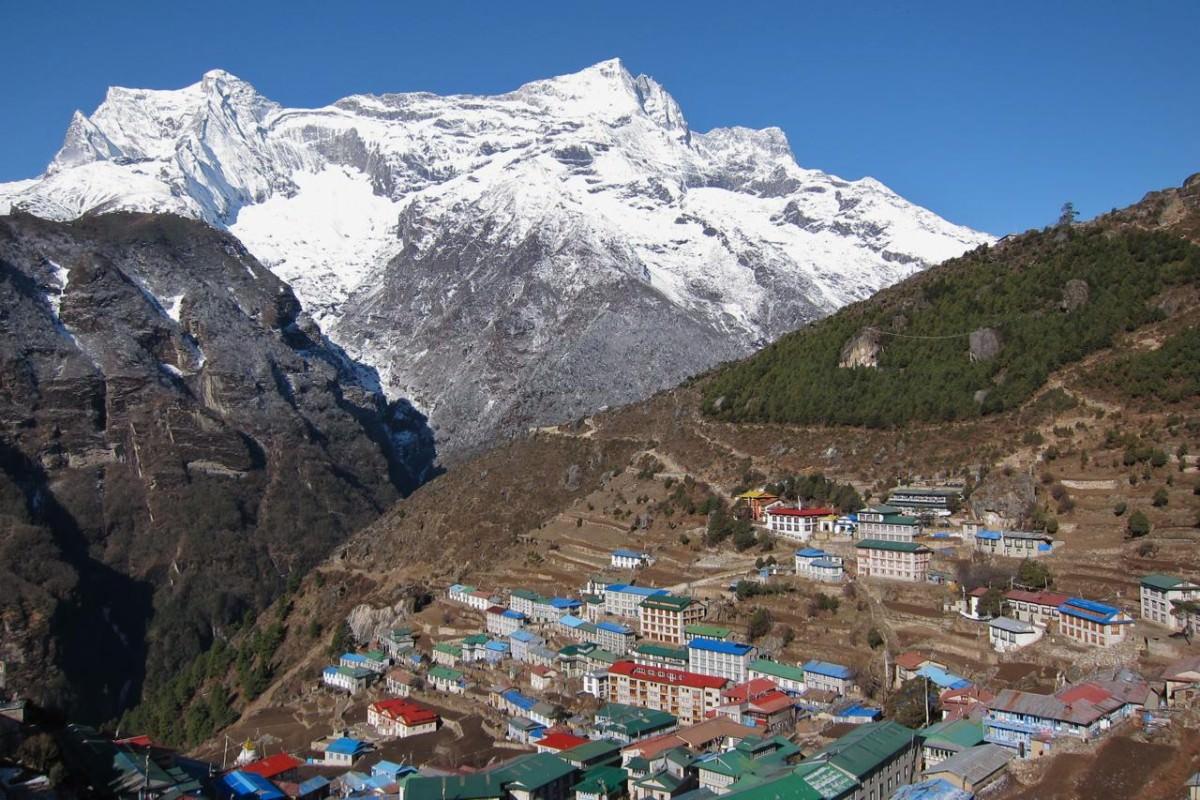 Località del Nepal, tra le montagne