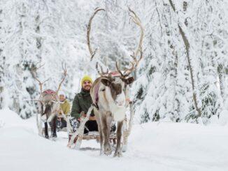 Rovaniemi, il villaggio di Babbo Natale, nella Lapponia finladese