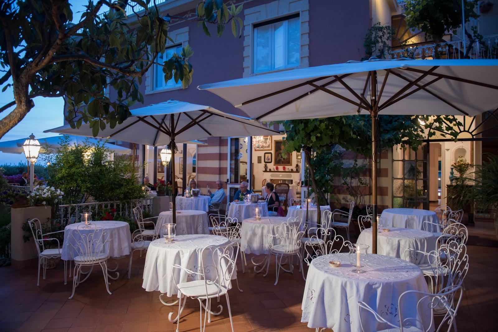 Villa Cheta, il ristorante - Maratea, Potenza