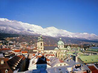 Panorama di Innsbruck ©Foto Österreich Werbung, Popp-Hackner