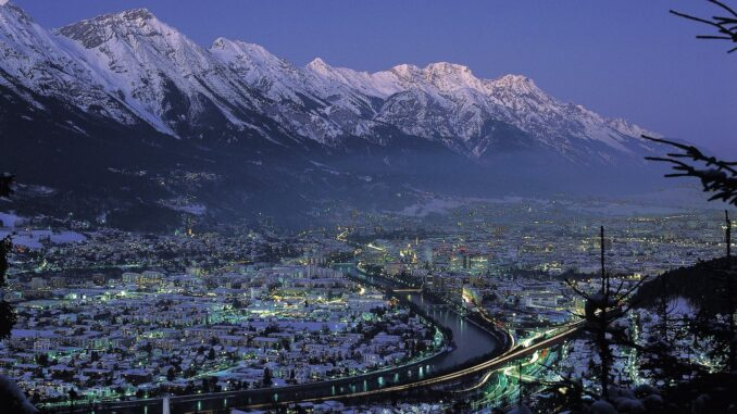Panorama di Innsbruck in inverno ©Foto © Österreich Werbung, Josef Mallaun