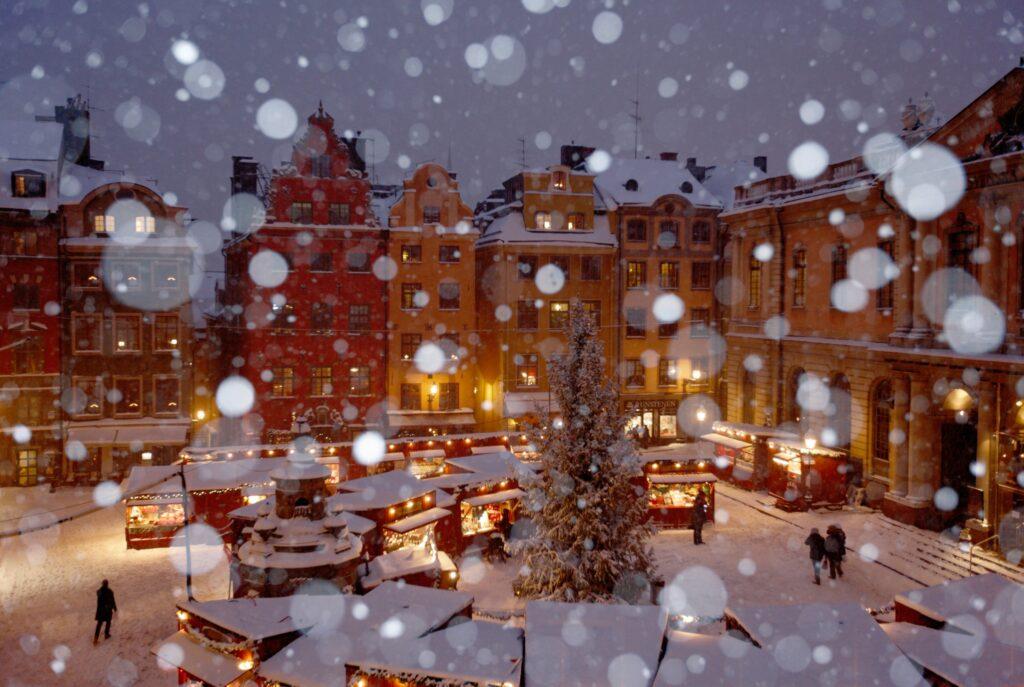 Mercatini di Natale a Stoccolma -©Foto Ola Ericson/imagebank.sweden.se