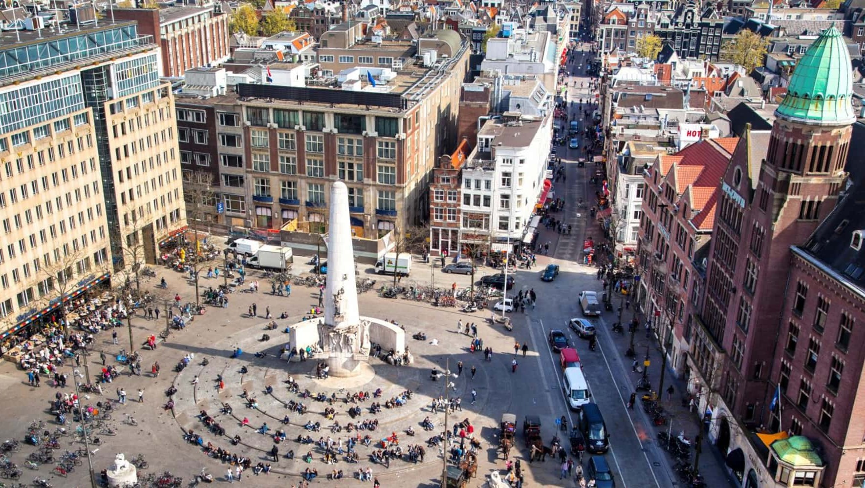 Amsterdam, luoghi di interesse: Piazza Dam, Amsterdam
