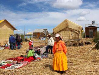 Abitanti Isole Uros, Perù