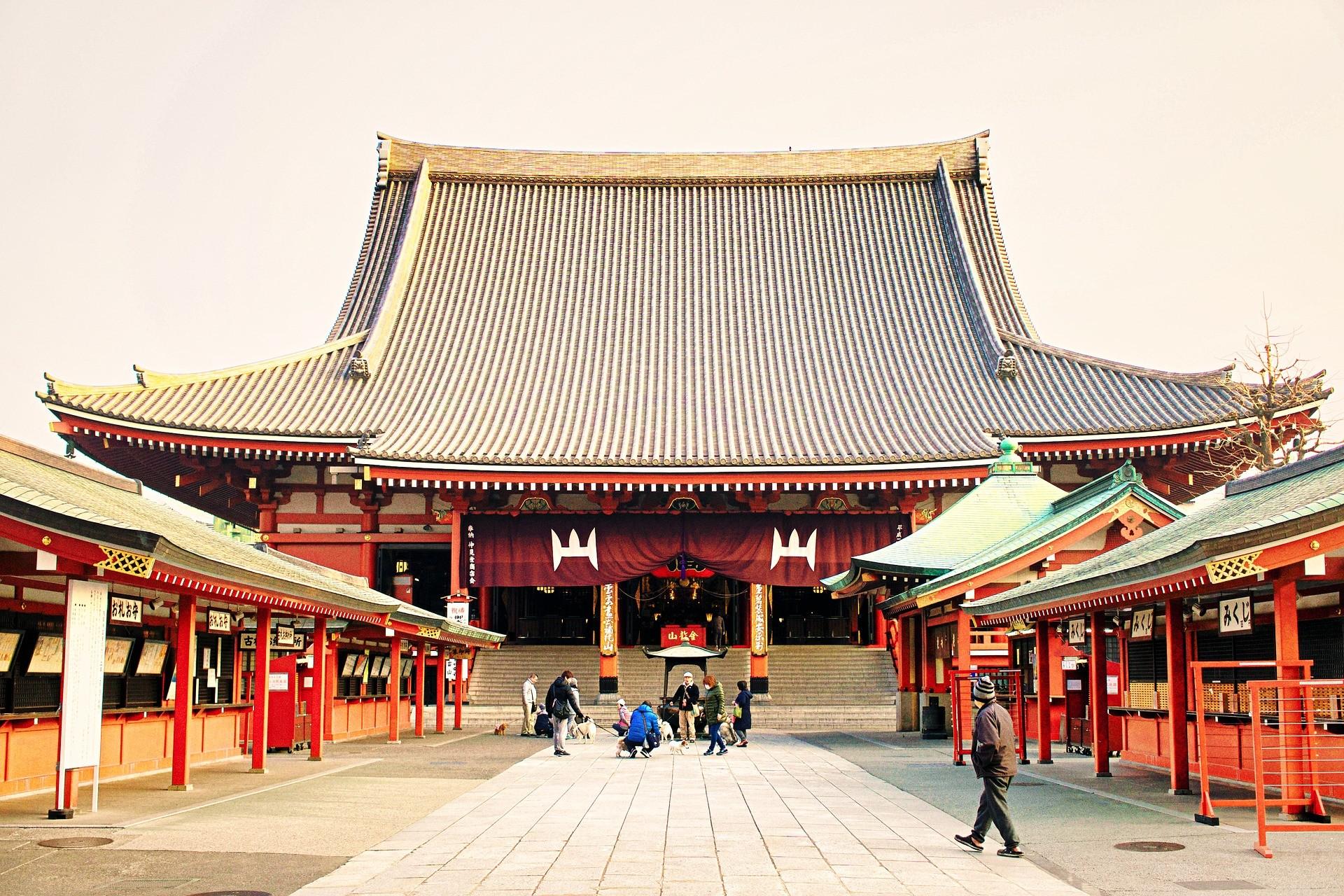 Tempio di Senso-ji Asakusa, Tokyo - Foto di so005