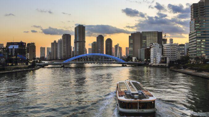 Tokyo in due giorni: Water Bus Sumidagawa River