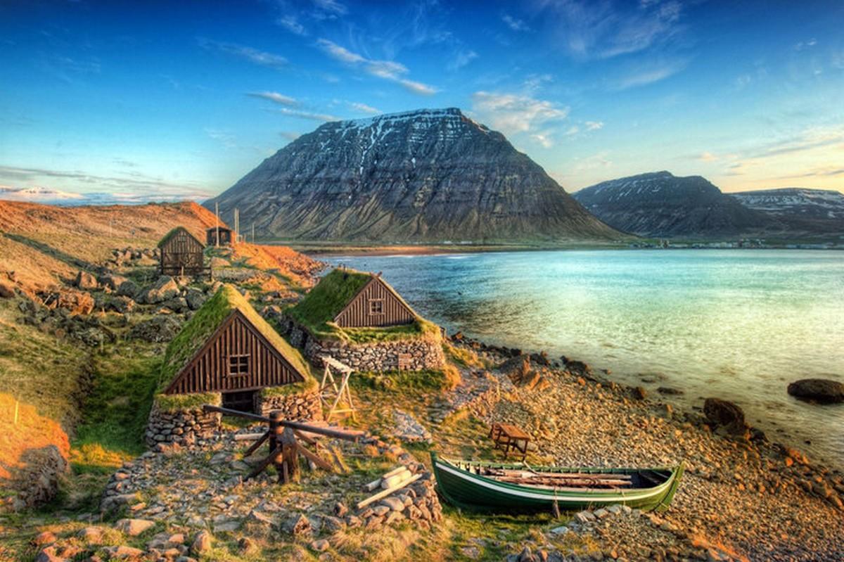 Islanda in veliero