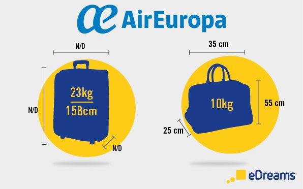 Air Europa bagaglio