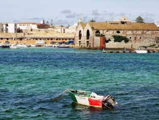 Favignana in Sicilia