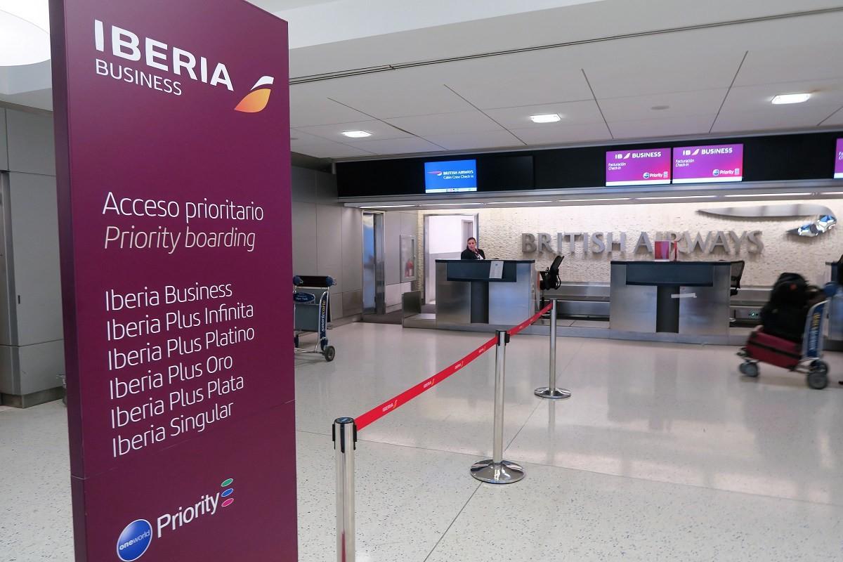 Iberia check-in