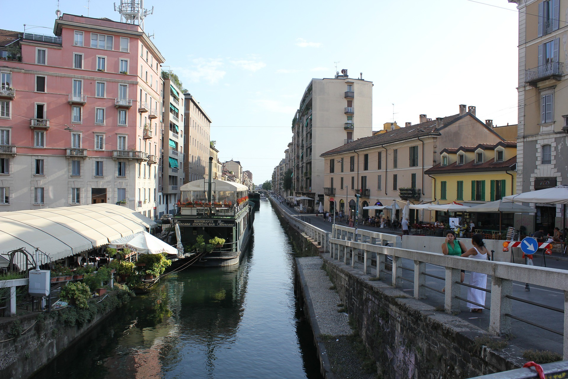 Darsena, Milano - Foto di Francesco Sciolti