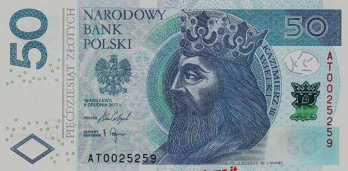 Moneta Cracovia Zloty polacco