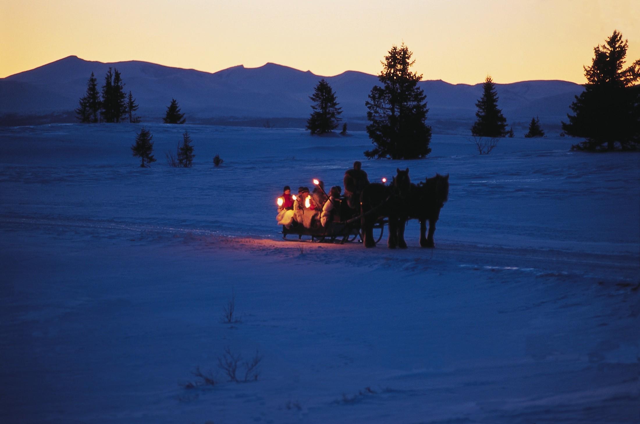 Natale in Norvegia -Foto Gålå in Gudbrandsdalen - Foto Terje Rakke/Nordic life - Visitnorway.com
