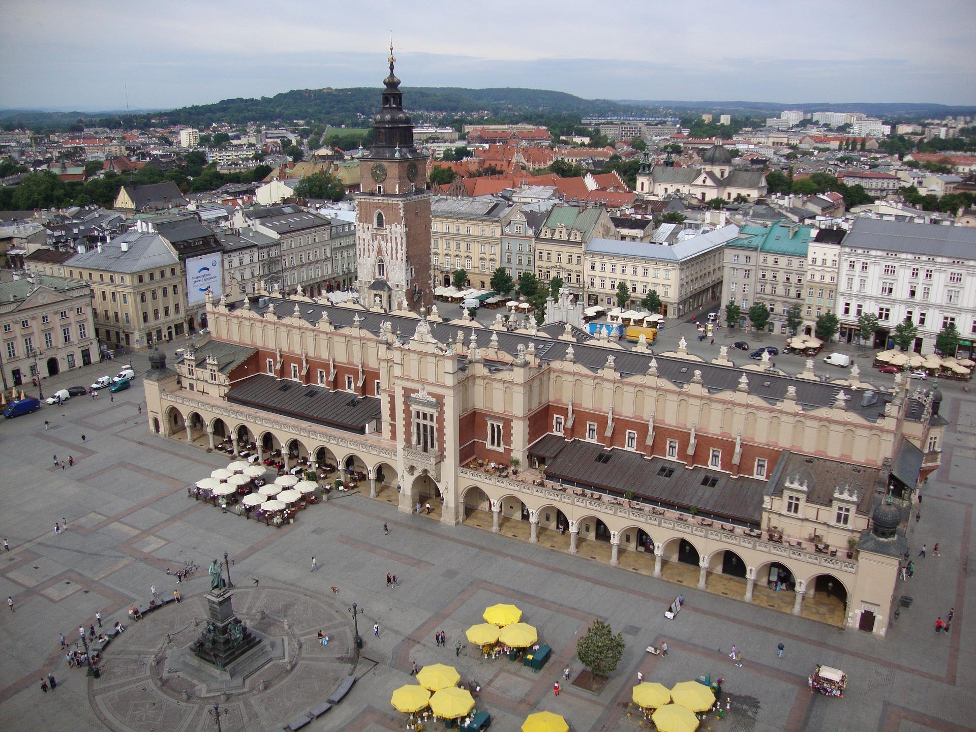 Palazzo del Tessuto a Cracovia, Polonia - Foto di Dariusz Staniszewski