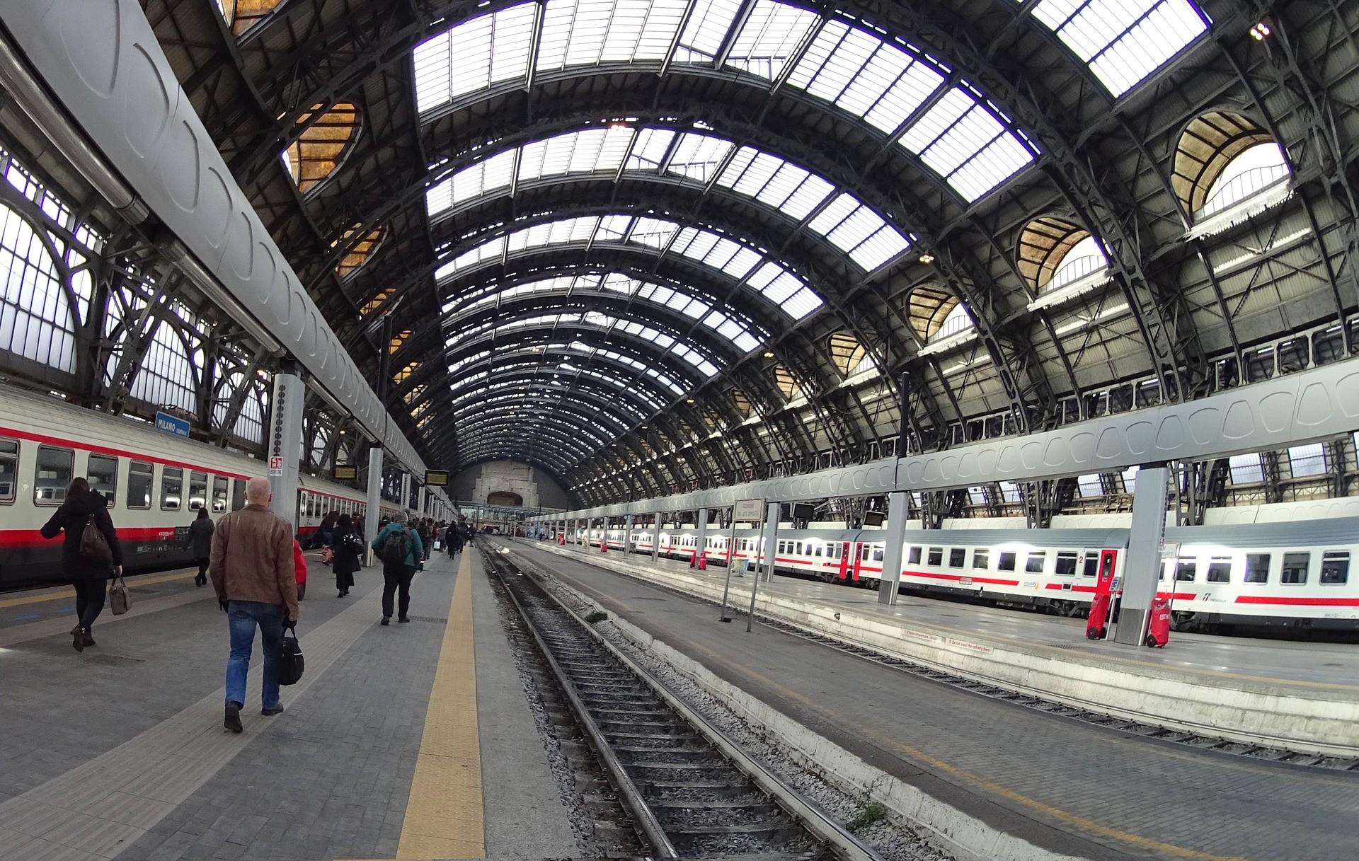 Stazione Milano Centrale - Foto di Giorgio Maria Zinno