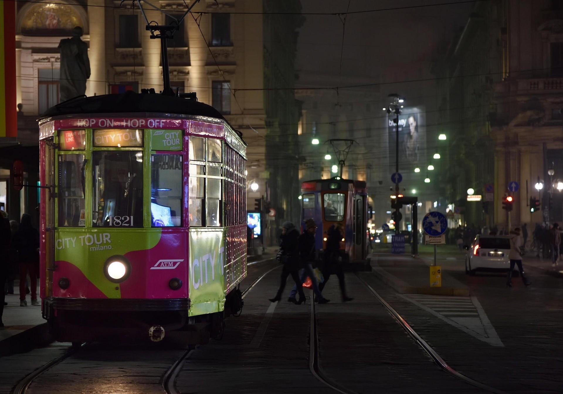 Tram a Milano - Foto di Nino Carè