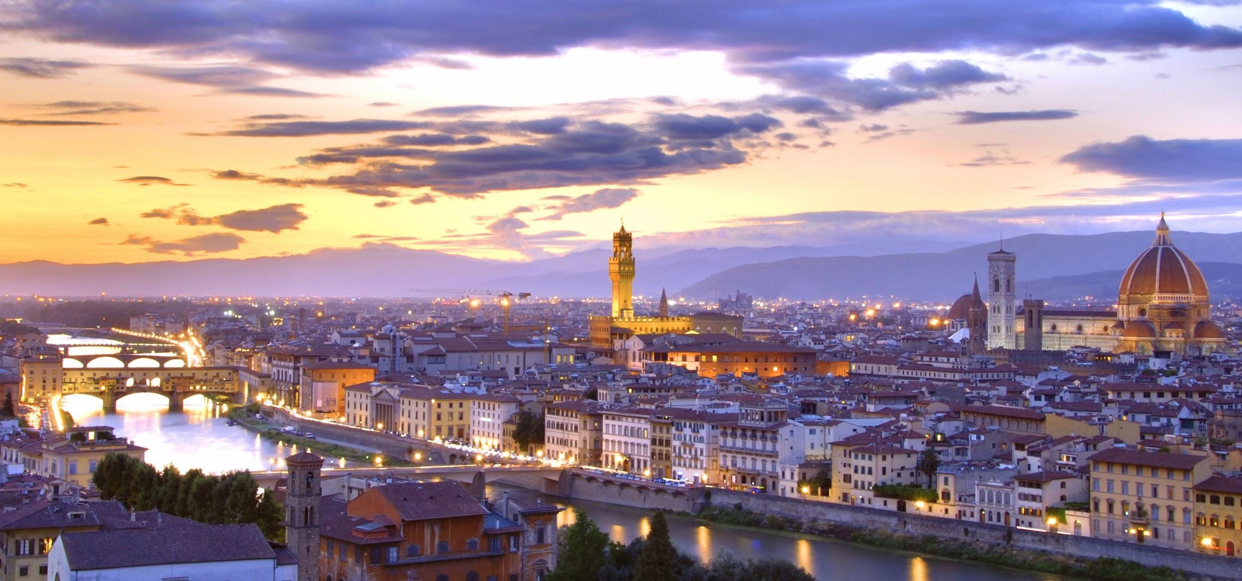 Veduta panoramica di Firenze