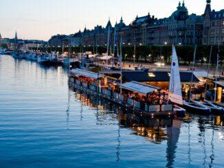 Panorama di Stoccolma, splendida capitale della Svezia ©Henrik Trygg/imagebank.sweden.se