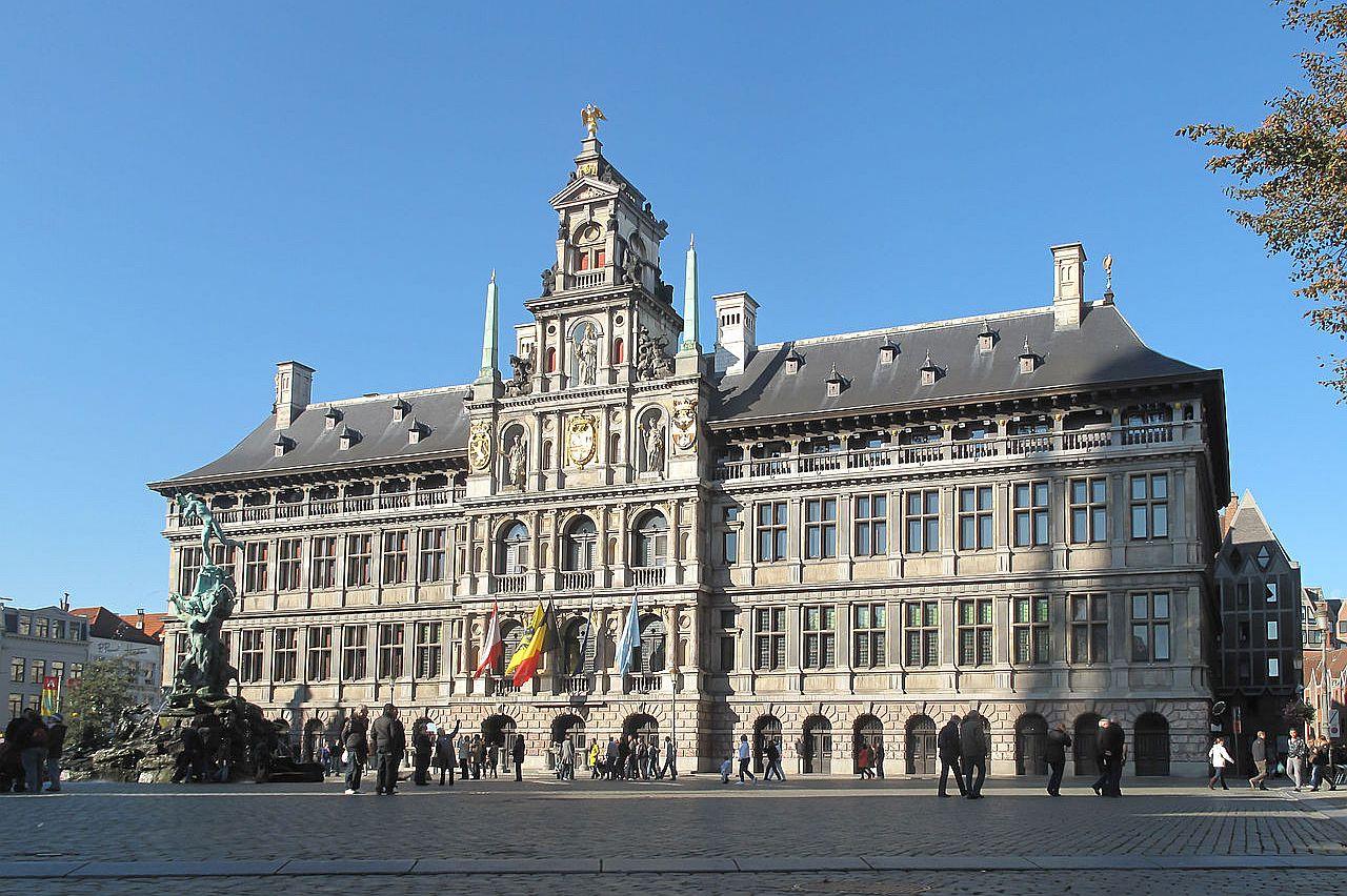 Anversa, Belgio - Il Municipio