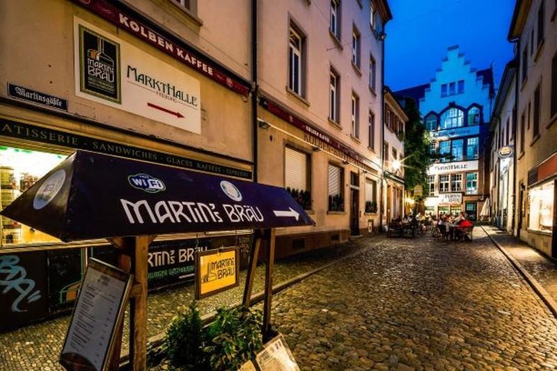 Birreria Martinsbrau a Friburgo, Foto Martins Braeu Freiburg