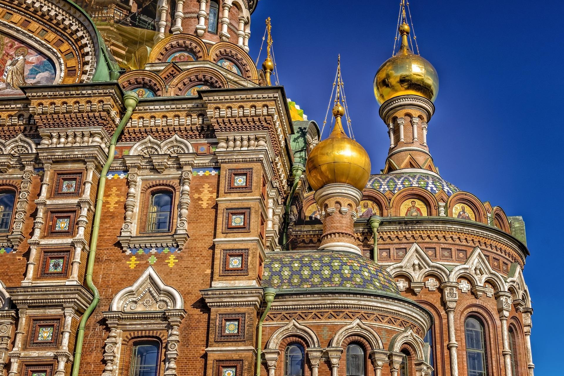 Chiesa del Sangue Versato, Russia