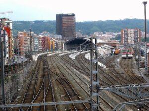 Ferrovia a Bilbao - Foto David Mark