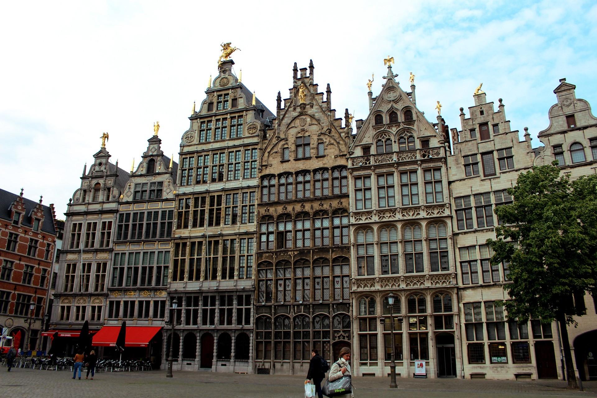 Luoghi di interesse di Anversa: Grote Markt - Foto di reginasphotos