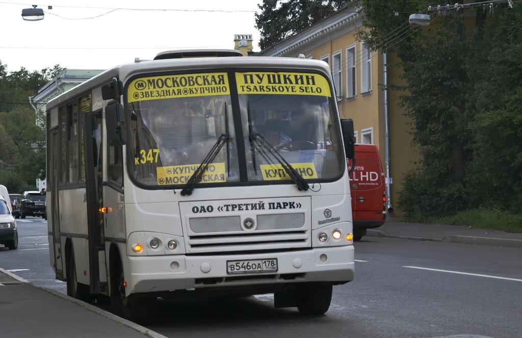 Marshrutka a San Pietroburgo