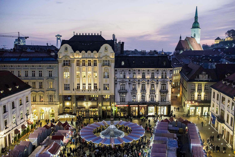 Mercatini di Natale a Bratislava