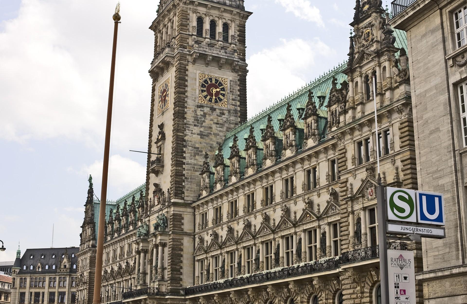 Cosa vedere ad Amburgo: Il Municipio di Amburgo