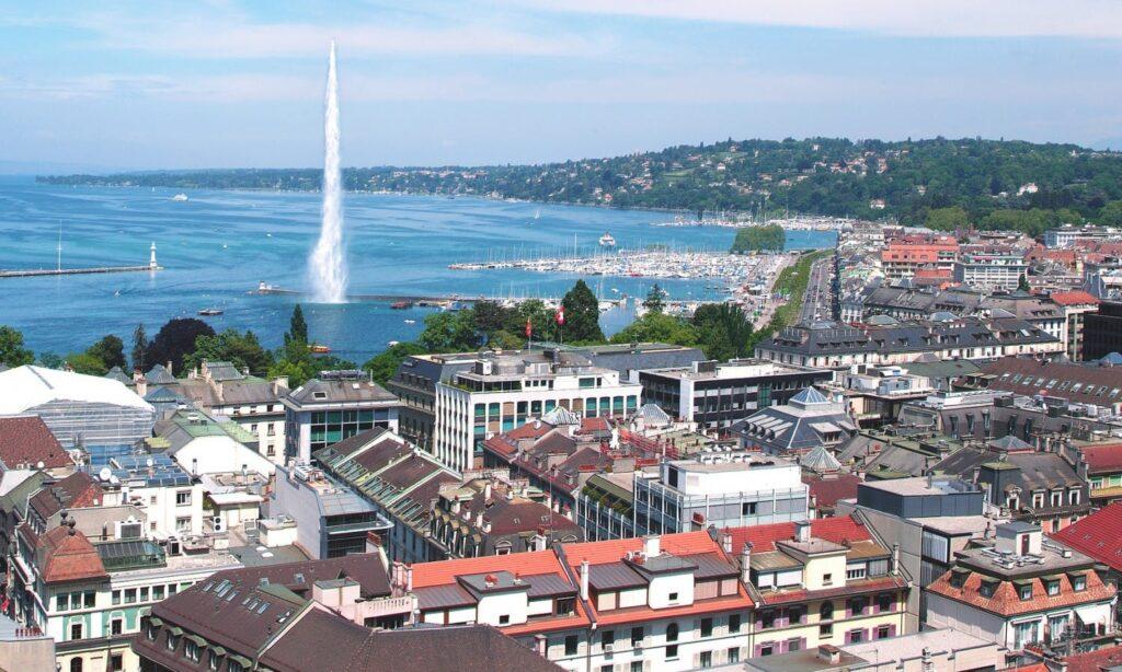 Panorama di Ginevra