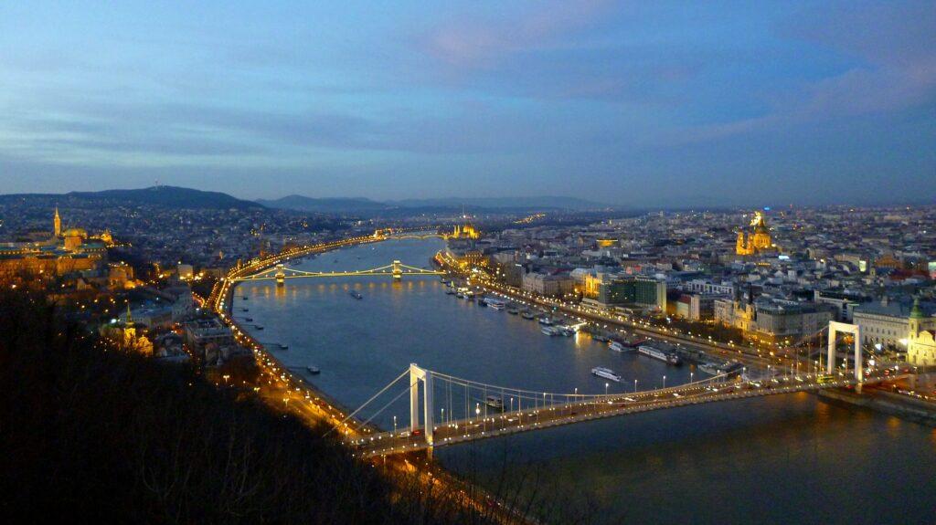 Panoramica di Budapest