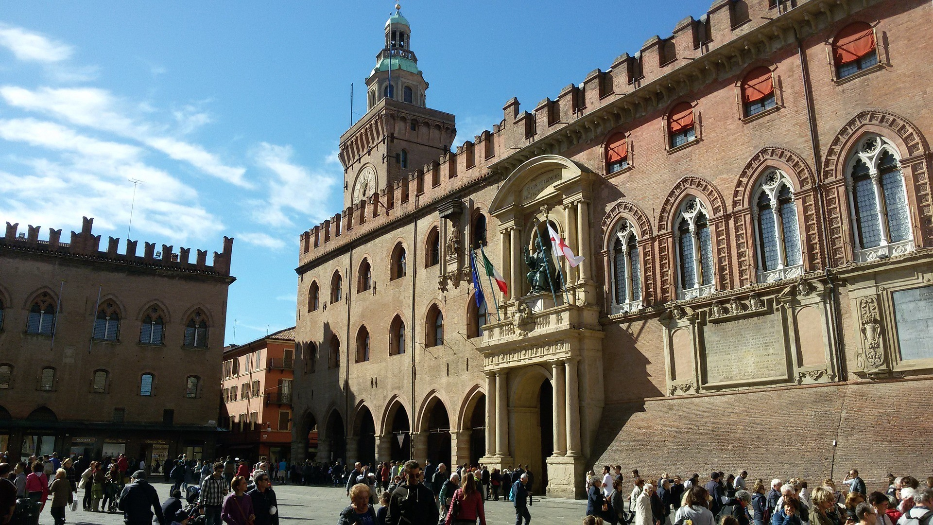 Piazza Maggiore a Bologna - Foto di Alex1965