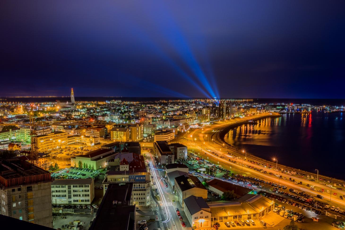 Reykjavík di notte