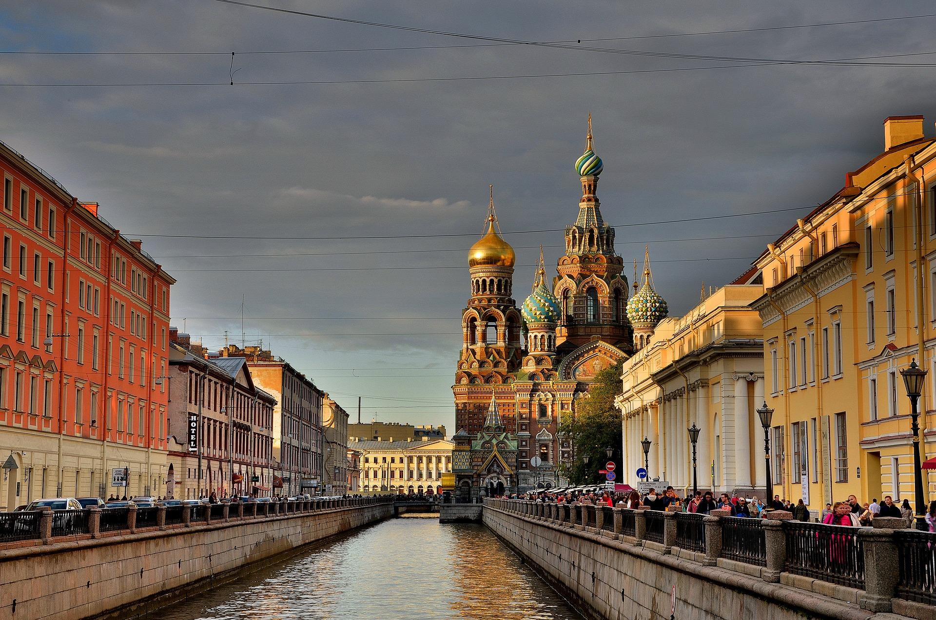 San Pietroburgo, Russia - Foto di Georg Adler