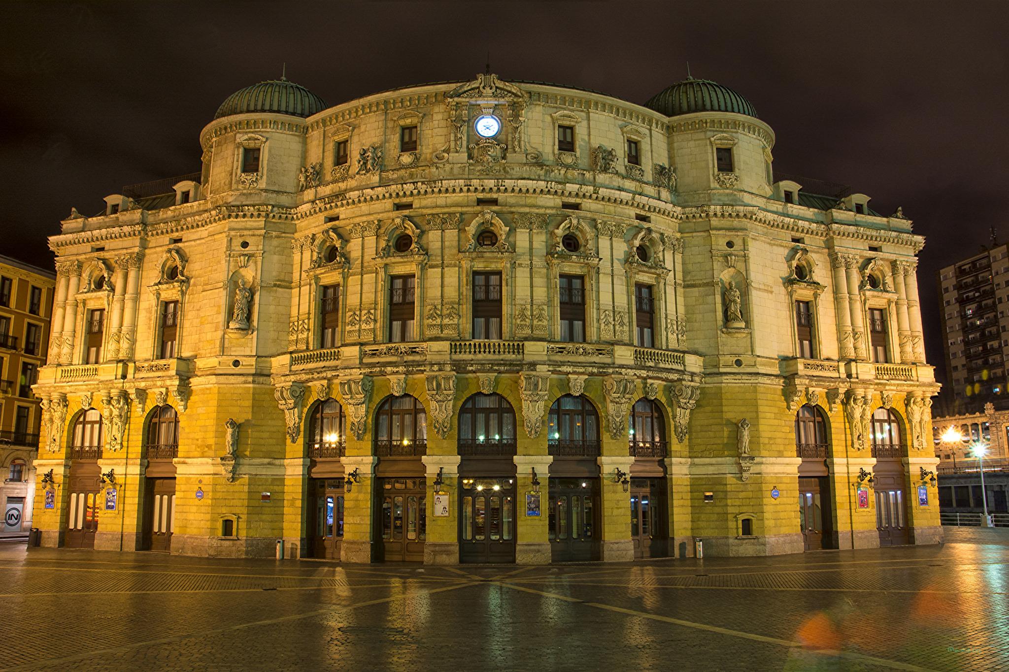 Cosa vedere a Bilbao: Teatro Arriaga Bilbao - Foto haymartxo