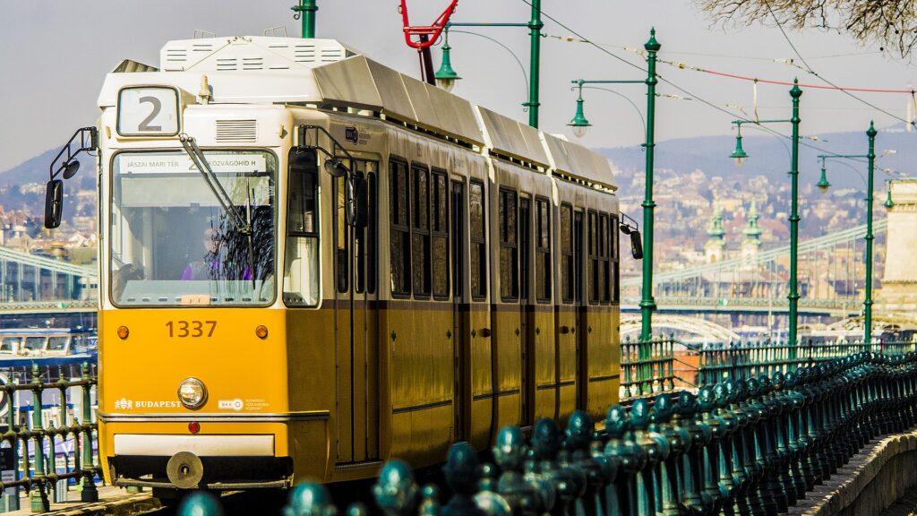 Tram di Budapest